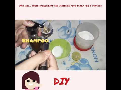 How to get rid off dandruff.  Do it yourself