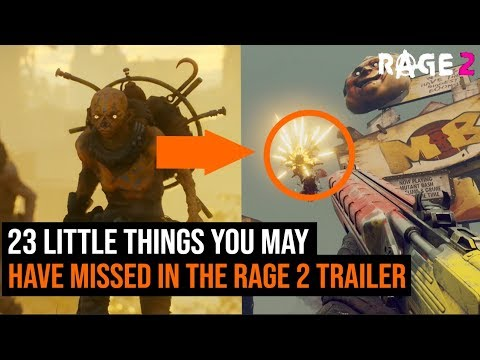 Rage 2 gameplay 23 little things you might have missed