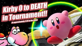 Kirby 0 to Death in Tournament!! | Xanadu 294 Smash Ultimate Tournament Highlights