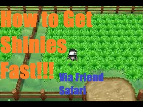 Pokemon X and Y How to Get Shiny Pokemon FAST!!! (Friend Safari)