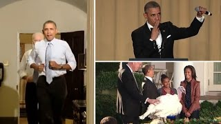 President Barack Obama's best moments on camera