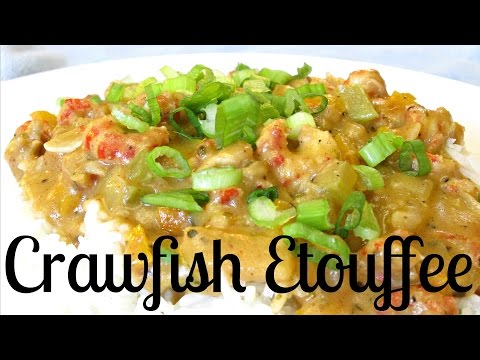 Crawfish Etouffee - Classic Etouffee with Mirepoix and Cajun Spices - PoorMansGourmet