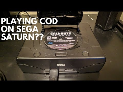 What Happens When You Put a Foreign Disc in a Sega Saturn??