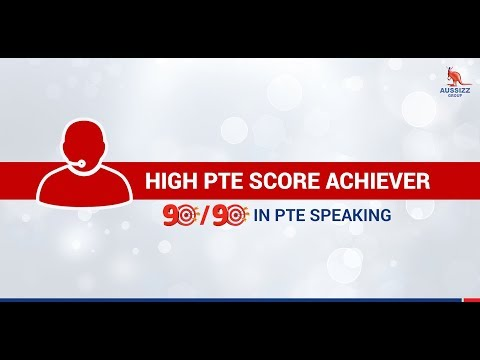 Incredible score of 90/90 in PTE Speaking
