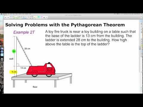 Unit 1 Lesson Topic 9 Pythagorean Theorem