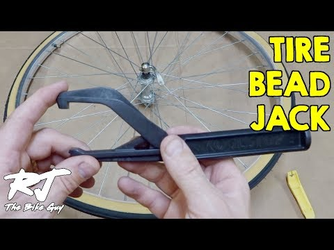 How To Get Tight Tire On Bike Wheel Rim With Tire Bead Jack