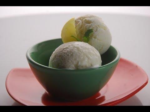 Coconut Lemon Ice Cream | New Season | Cooksmart | Sanjeev Kapoor Khazana