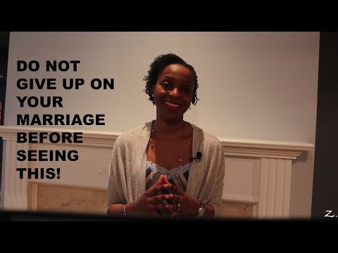 Marriage Advice: Do Not Give Up On Your Marriage Without Seeing This