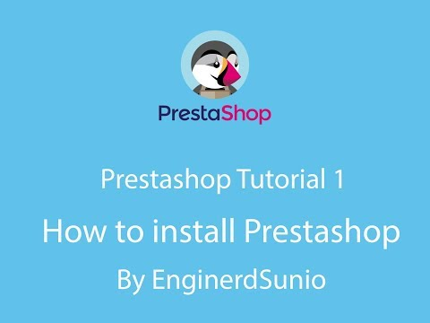 How to install Prestashop on localhost | By Enginerdsunio