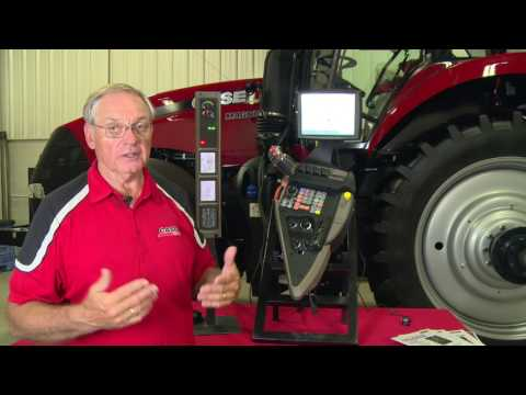 Case IH Tractors: CVT & Powershift Tractor Controls