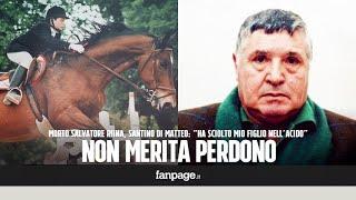 """Morto Totò Riina, parla Santino Di Matteo: """"Ha sciolto mio figlio nell"""
