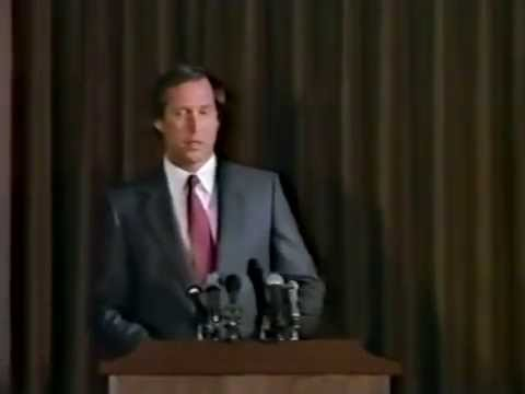 Spies Like Us - Chevy Chase Holding a PressConference