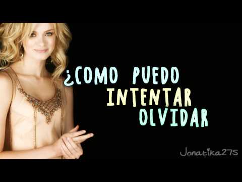 Sara Paxton - How Can I Remember To Forget  (Traducida al español)