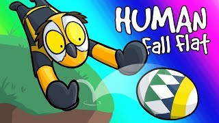 Human Fall Flat Funny Moments - Easter Eggs and Boulders!