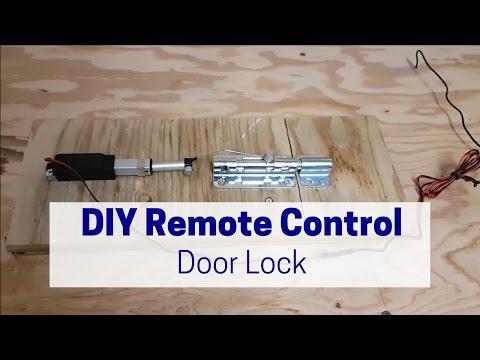 DIY Remote Control Door Lock