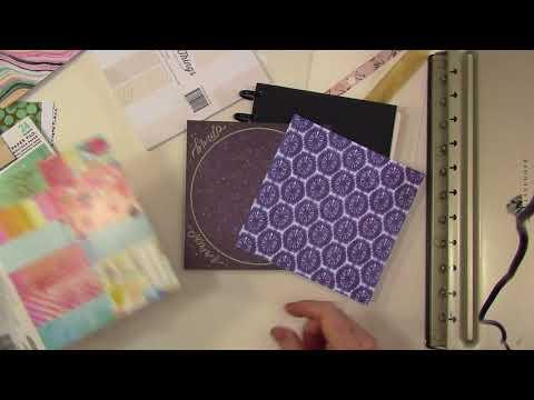 Altering a Disc Bound Art Journal
