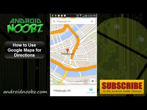 How to Use Google Maps on Android for Directions - Android Noobz
