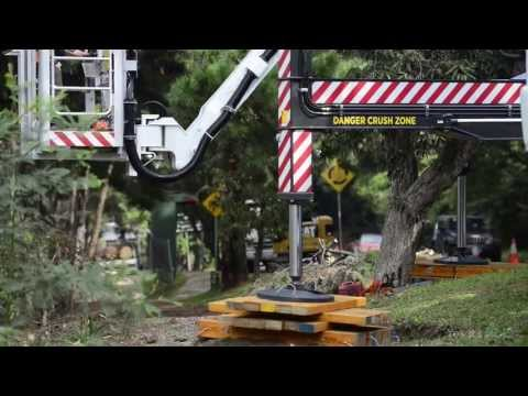 Drone Tree Cutting Aerial work Platform.