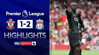 HIGHLIGHTS | Southampton 1-2 Liverpool | Premier League | 17th August 2019