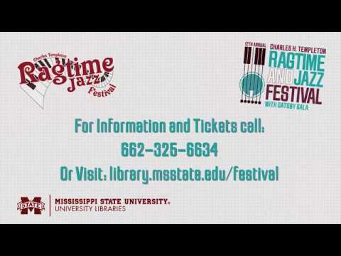2018 Charles H. Templeton Ragtime and Jazz Festival Promo