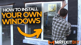 HOW TO INSTALL A WINDOW | NEW CONSTRUCTION