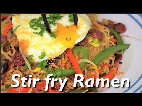 UPGRADE Your RAMEN! AMAZING Stir Fry Ramen Recipe!
