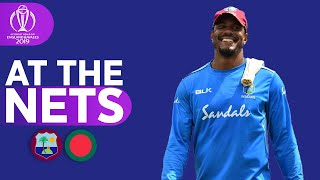 WIN V BAN - At The Nets | Windies | ICC Cricket World Cup 2019