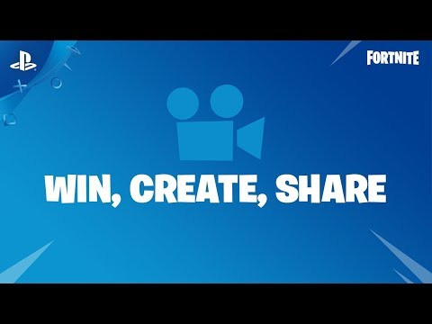 "Fortnite - Replay System ""Win.Create.Share"" Trailer 
