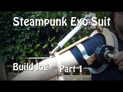 Steampunk Exo-Suit Build Log Part 1
