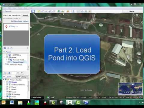 QGIS Lesson 6 (Part 1 & 2) - Procedure to Create Buffers around Water in QGIS