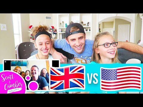 WE LEARN BRITISH PHRASES THEY LEARN AMERICAN PHRASES...