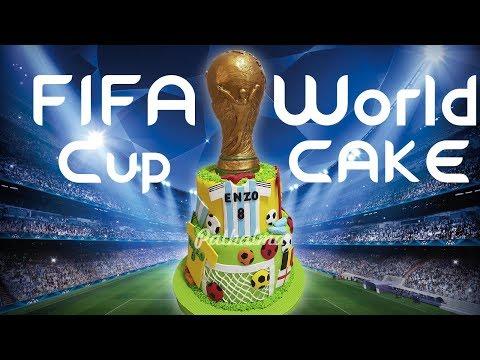 Torta  copa mundial -FIFA WORLD CUP 2018 CAKE
