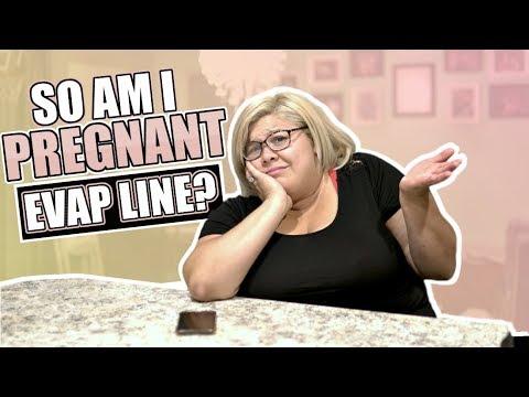 SO AM I PREGNANT? EVAP LINE OR POSITIVE TEST? | 18 DPO