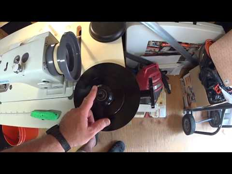 LEATHER SEWING MACHINE SPEED REDUCING PULLEY INSTALL NICK O SEW