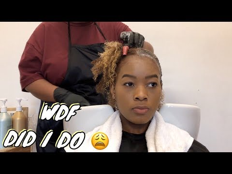 DYEING MY NATURAL HAIR BLONDE (for real this time)