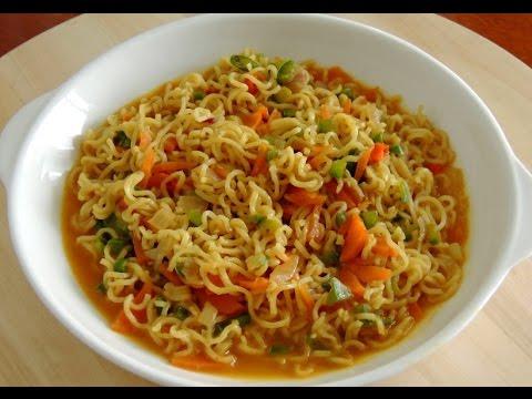 Masala maggi recipe | Maggi recipe in Hindi | Street style veg maggi |  maggi बनाने की रेसिपी