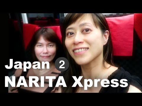 [Vegan goes to Japan #2 ] From Narita Express to the GIGANTIC hotel room