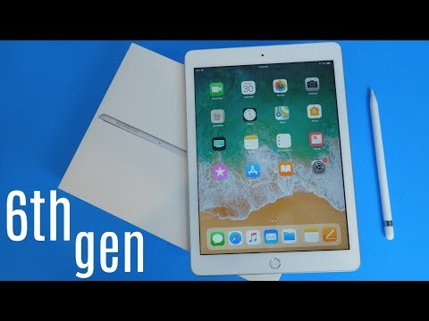 New iPad 9.7 (6th Gen) Unboxing!