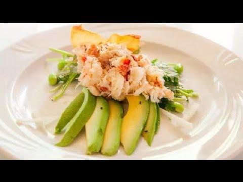 Japanese Crab Meat Salad : Seafood Salad