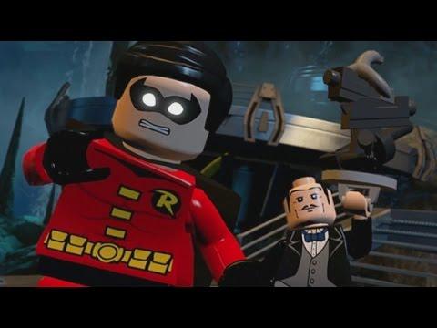 LEGO Batman 3: Beyond Gotham (Vita / 3DS) Walkthrough Chapter 2 - Batcave Battle (Batman Boss Fight)