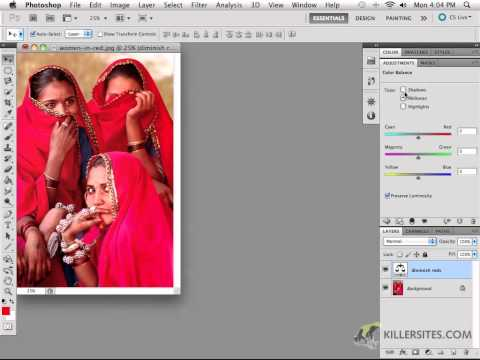 Photoshop CS5 - Color Balance