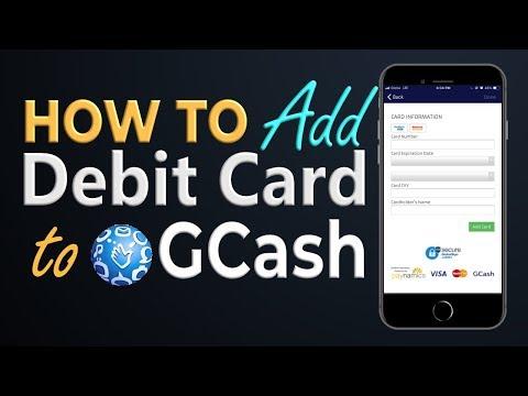 How to Add Debit Card as Cash In Option in GCash