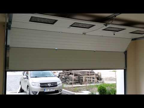 usi garaj sectionale automate cu telecomanda ieftine la pret 0720959626