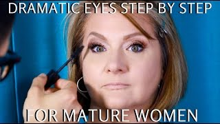 Dramatic Eyes For Mature Women Over 40 Step By Step Makeup Tutorial - Mathias4makeup