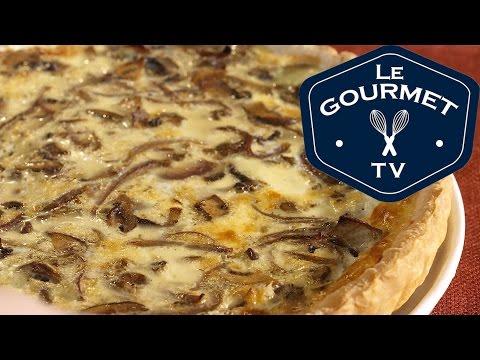 Mixed Mushroom Quiche Recipe - LeGourmetTV