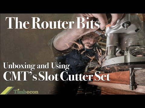 The Router Bits - Unboxing and Using the CMT Slot Cutter Set