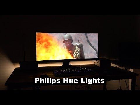 Sync Philips Hue Lights with Movies and Music - Setup & Demo