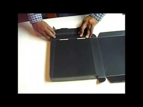Assembling Polypropylene Clamshell Storage Box
