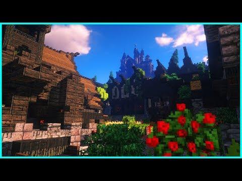 Minecraft - DETAILED MEDIEVAL VILLAGE: Duchy of Curon - Cinematic Map Tour
