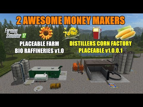 Farming Simulator 17 - Distillers Corn Factory & Farm Bio Refineries
